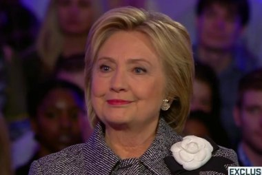 How would Clinton help young Americans?