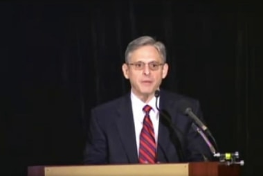 Who is Merrick Garland?