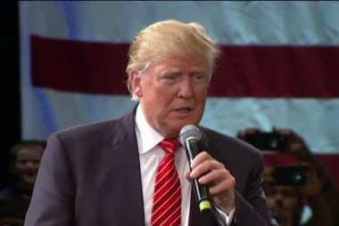 Trump warns of 'riots' if he's not nominated