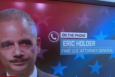 Holder: Focus should be confirmation of...