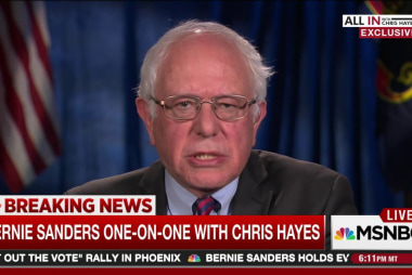 Bernie Sanders one-on-one with Chris Hayes