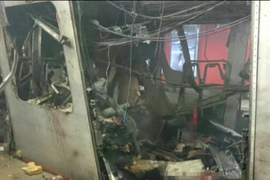 Witness to train bombing felt 'blast of air'