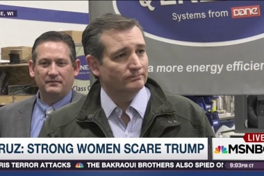 Cruz at war with Trump over wife insult