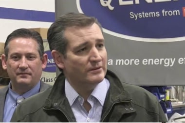 Cruz: 'Strong women scare Donald Trump'
