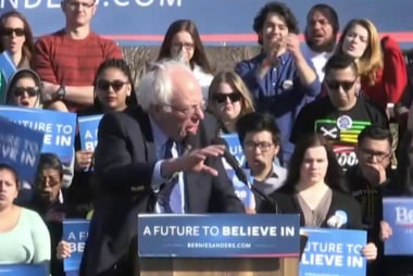 Sanders sweeps Saturday contests