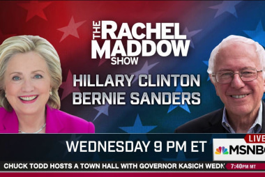 Huge night Wednesday on MSNBC