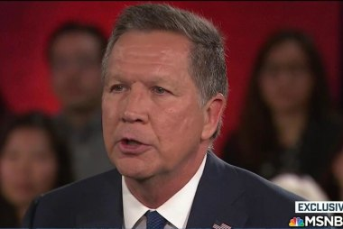 Kasich: I had to fight for what I believed in