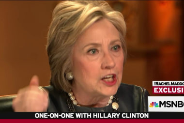 Clinton: I'm not pivoting, I'm just outraged