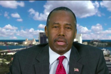 Carson on Trump's comments about minorities