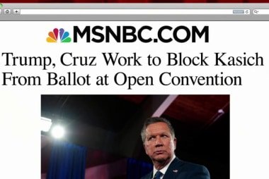 Trump, Cruz seek to block Kasich from ballot