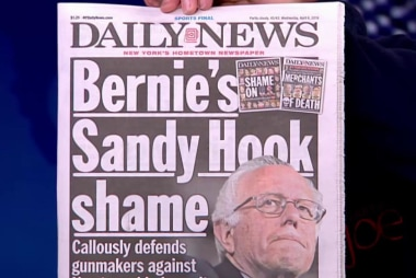 Just how damaging is Sanders Daily News talk?