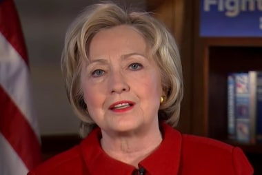 Clinton: I have a record, a plan and I'm...