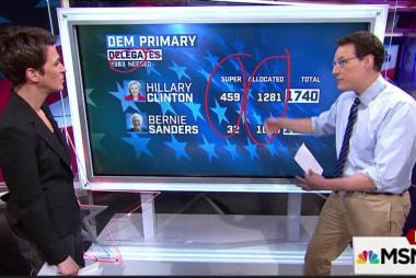 Sanders' path to victory a steep climb
