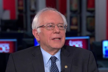 Sanders: Here's how I would break up the...