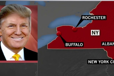 Candidates hit the trail in NY