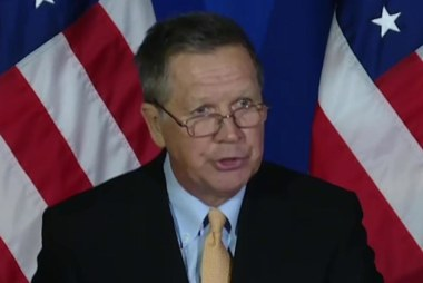 Why Kasich stands alone