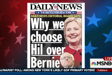 NY Daily News endorses Clinton