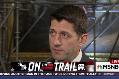 On the Trail: Paul Ryan says don't look at me