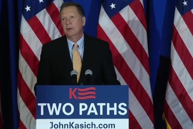 Why Kasich doesn't seem for these times