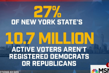 Millions of unaffiliated NY voters can't...