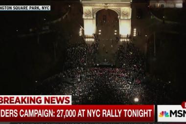 Sanders draws massive crowd to NYC rally