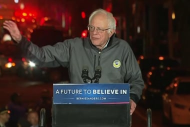 Joe: Bernie has another iconic moment