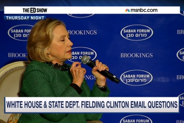 Clinton critics question private emails