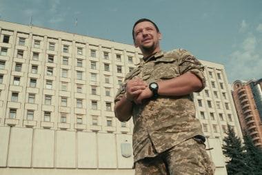 Soldier helps other veterans in Ukraine