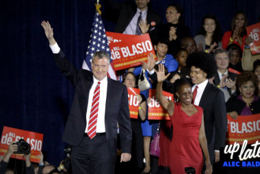 De Blasio's promise to the homeless of NYC