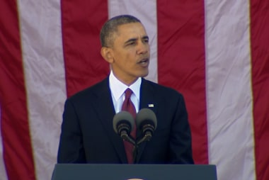 Obama: 'Never forget' veterans' sacrifice