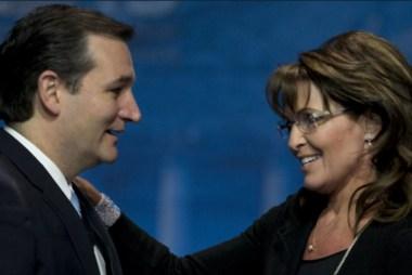 Cruz's only GOP friend – Sarah Palin