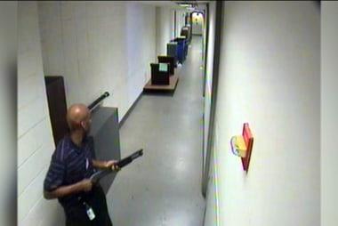 VIDEO: Navy Yard shooter enters gun debate