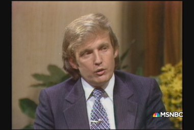 A 33-year-old Trump talks NYC real estate...