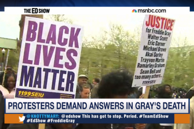 Protestors demand answers in Baltimore
