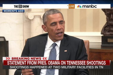 Pres. Obama: TN shooting is 'heartbreaking'