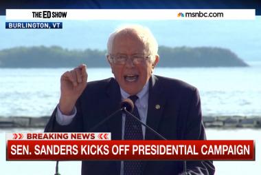 Sanders kicks off campaign