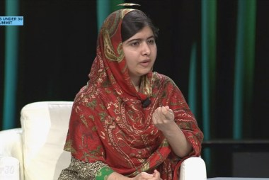 The Malala interview: Send books, not guns