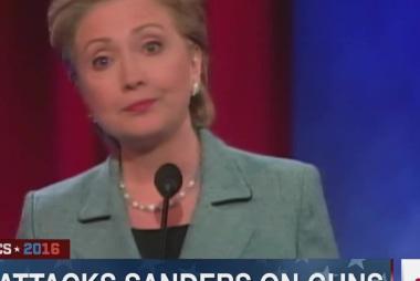 Clinton, Sanders spar on guns and healthcare