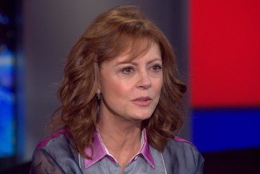 Extended interview with Susan Sarandon
