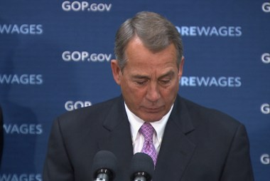Boehner clarifies remarks teasing colleagues
