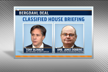 House to get briefing on Bergdahl