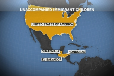 Surge in kids crossing the border alone