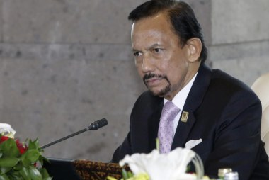 Backlash against the Sultan of Brunei