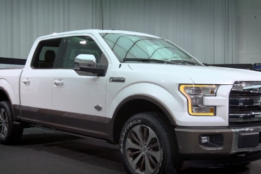 Ford unveils new truck at Detroit auto show