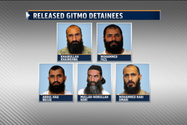 Does the Gitmo release put troops in danger?