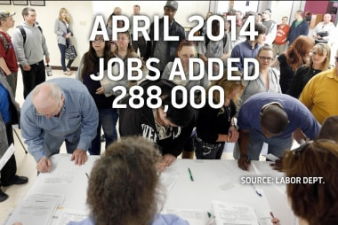 Unemployment hits 5-year low