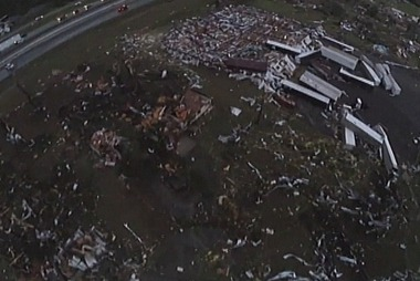 Deadly tornadoes rip through several states