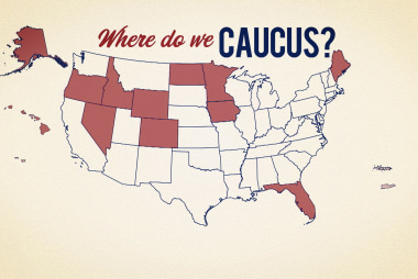 Where do we caucus?