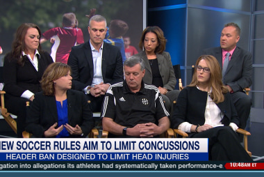 Soccer parents panel on concussions