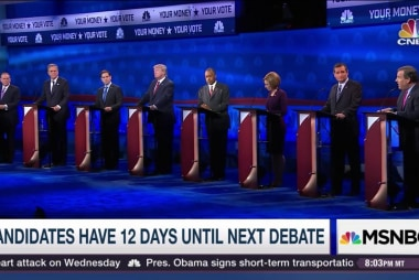 It's just 12 days until next GOP debate